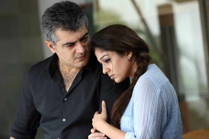 Ajith with Nayantara