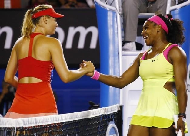 Maria Sharapova Serena Williams Australian Open 2015