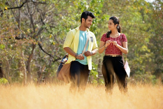 Namitha Pramod and Aadi in Telugu film Chuttalabbayi