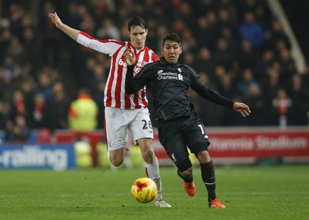 Philipp Wollscheid Stoke City Roberto Firmino Liverpool