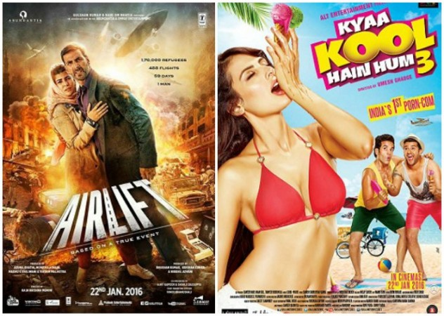 Airlift and Kyaa Kool Hain Hum 3