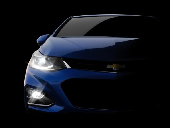 2016 Chevrolet Cruze teaser (representational image)