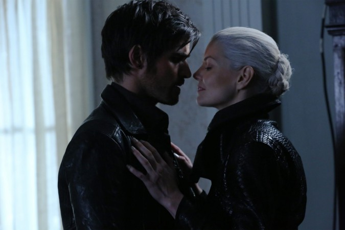 "Emma and Captain Hook became the Dark Ones in the first half of ""Once Upon a Time"" Season 5."