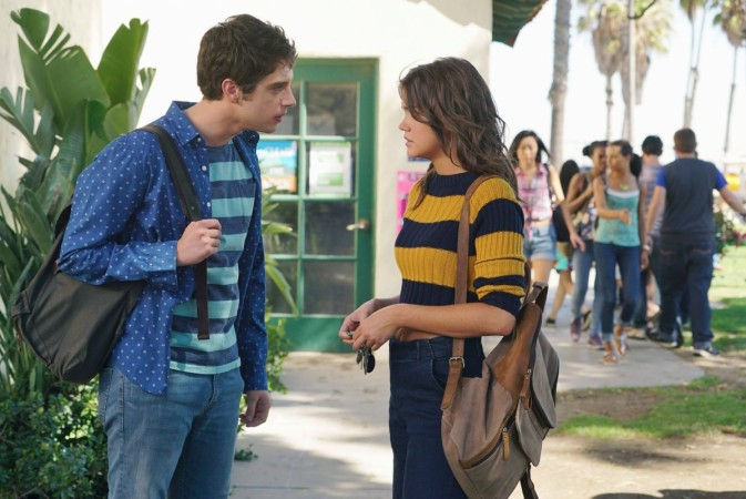 Brandon and Callie argue over the big secret that  they share