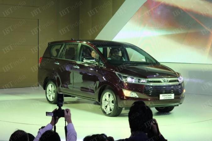 Auto Expo 2016: Toyota Innova Crysta