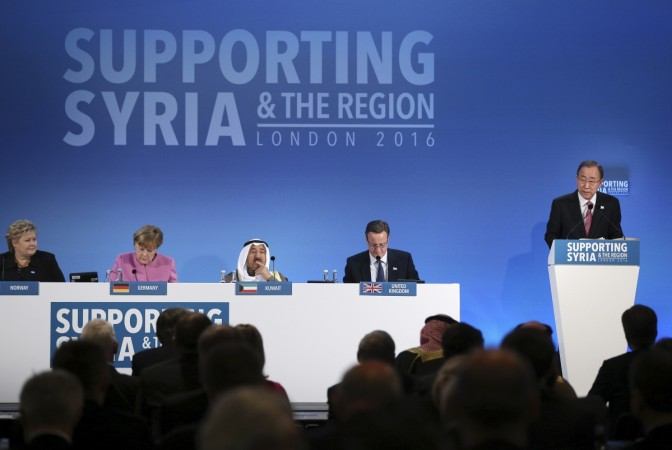 Syria donor conference