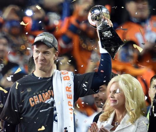 Peyton Manning Denver Broncos Super Bowl 50