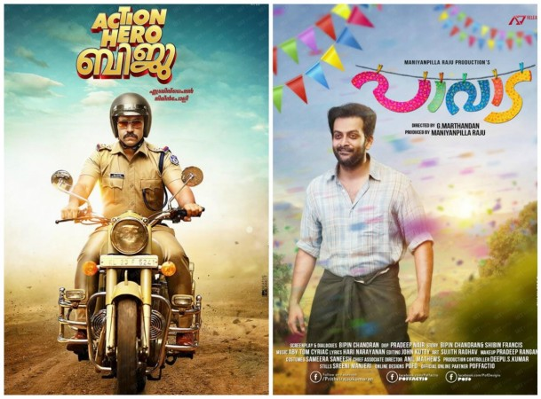 Action Hero Biju and Paavada US box office
