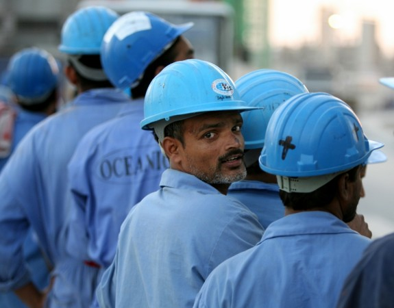 Indian workers gulf
