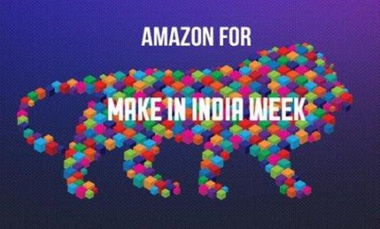 Amazon supports Make in India on an international level