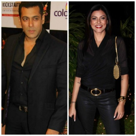 Salman Khan and Sushmita Sen