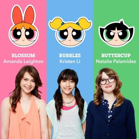The new voice actors of Powerpuff Girls
