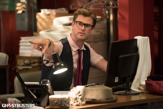 Chirs Hemsworth in Ghostbusters