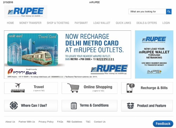mRUPEE Ties Up With IRCTC