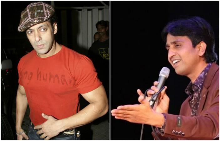 Salman Khan, Kumar Vishwas