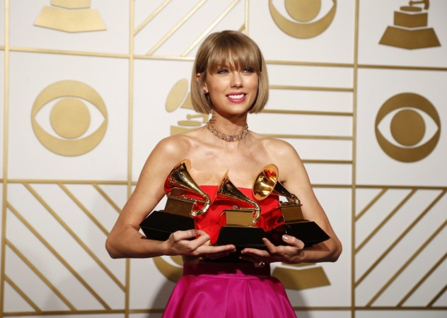 Taylor Swift was a big winner at the 58th Grammy Awards