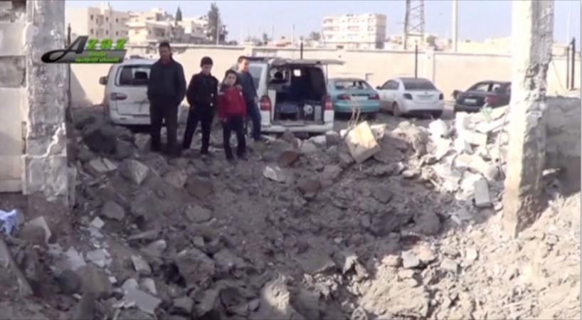 Syria hospital attack