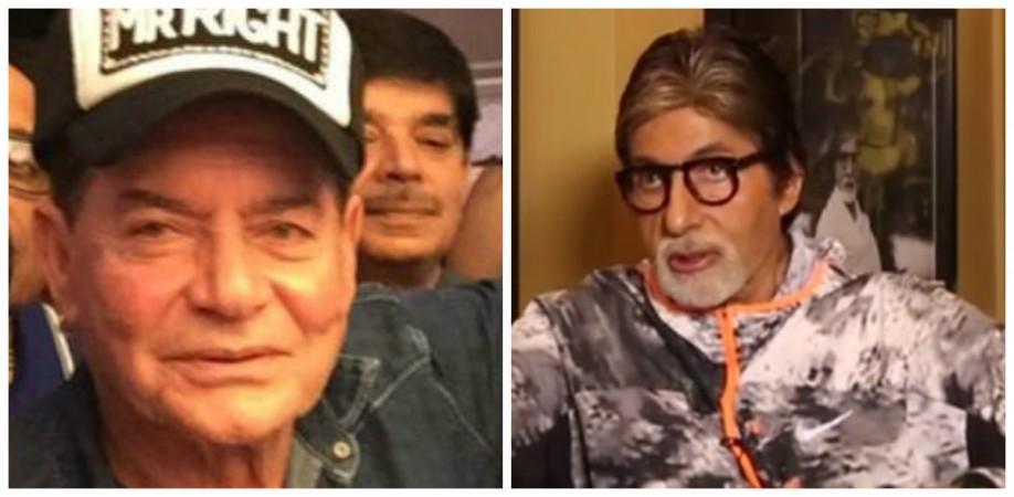 Salim Khan and Amitabh Bachchan