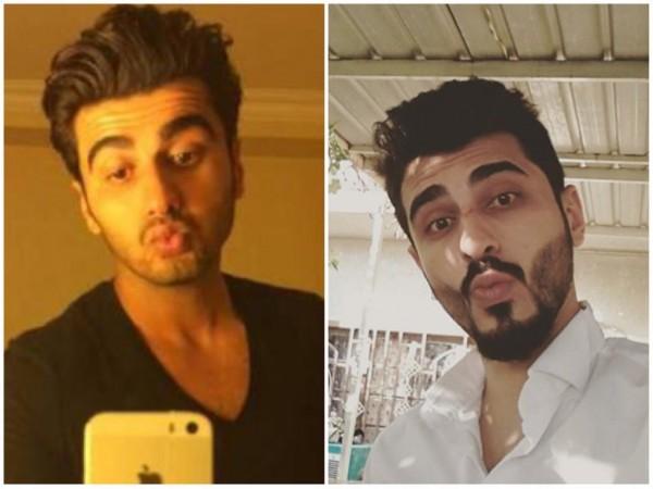 Arjun Kapoor and his look alike