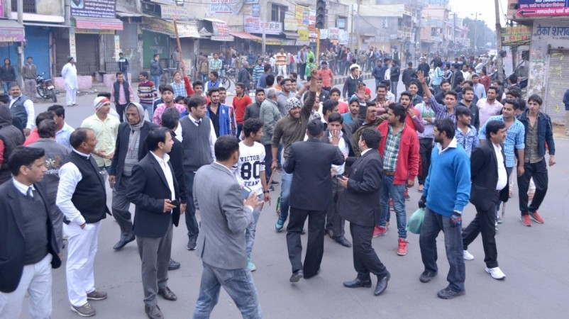 Jat quota protest