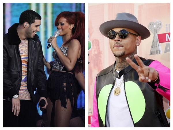 Drake Rihanna Chris Brown