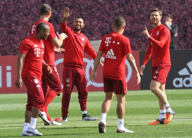 Bayern Munich Vidal Alonso