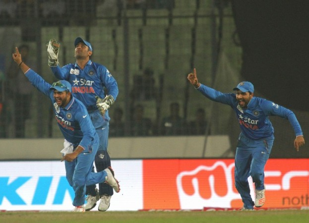 Dhoni Raina Rohit India Bangladesh Asia Cup 2016