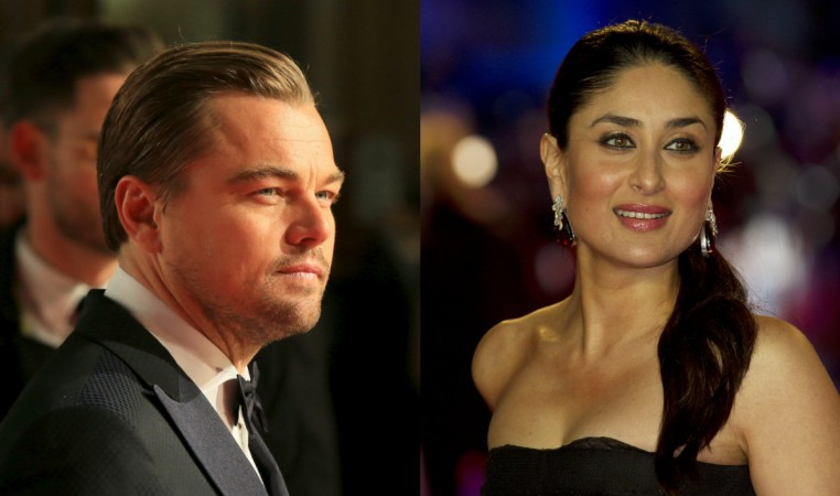 Kareena Kapoor Khan and Leonardo DiCaprio