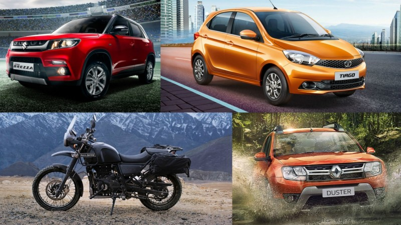 Car & Bikes launching in March 2016