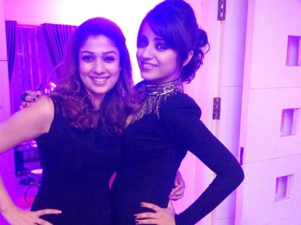 Nayantara with Trisha
