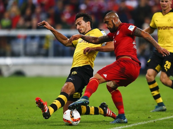 Mats Hummels Borussia Dortmund Arturo Vidal Bayern Munich
