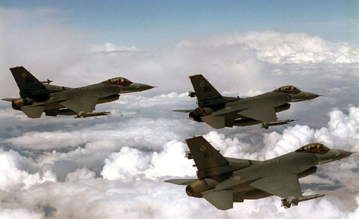 F-16 fighter jets