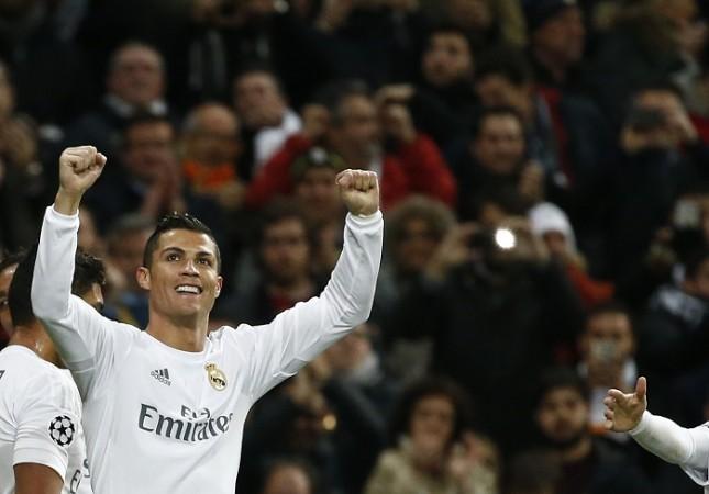 Cristiano Ronaldo Real Madrid Roma