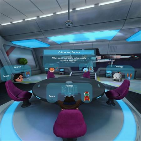 Social Games in Samsung Gear VR