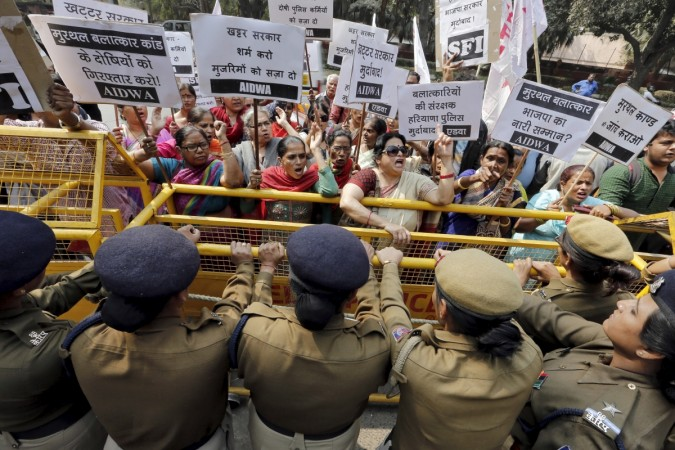 protest against rape
