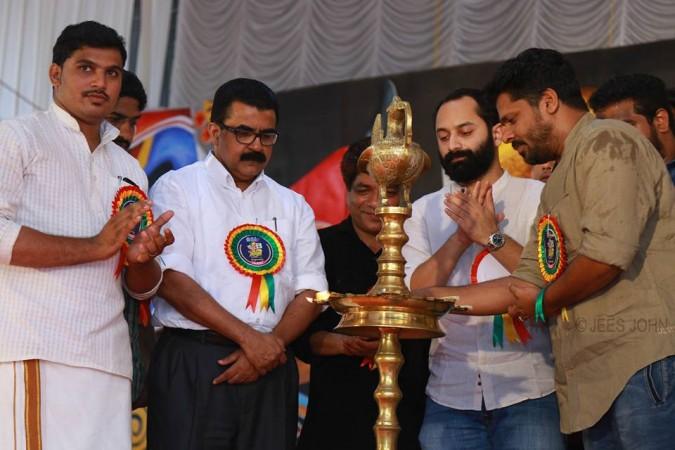 Fahadh Faasil, Aashiq Abu and Dileesh Pothen inaugurate Saparya 2016