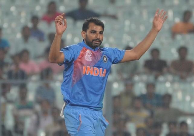 Mohammed Shami India World T20 2016