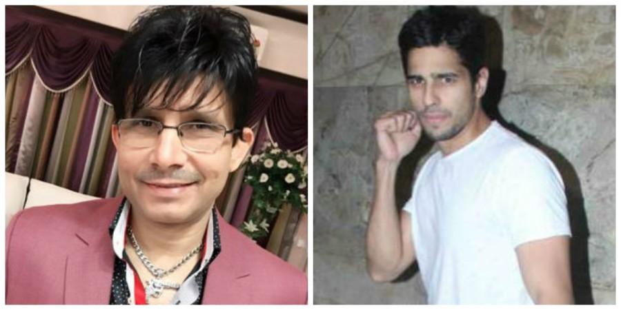 KRK and Sidharth Malhotra