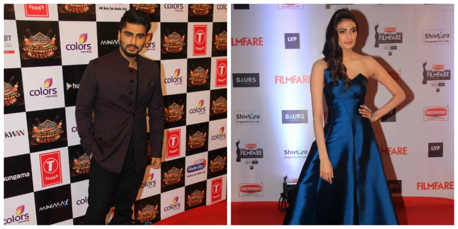 Arjun Kapoor and Athiya Shetty