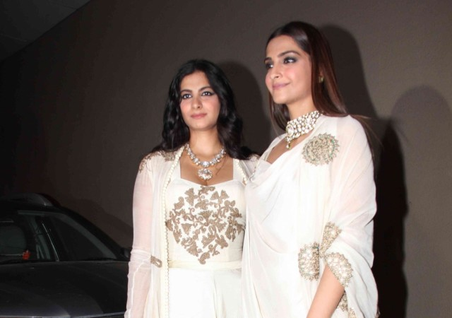 Sonam Kapoor with sister Rhea