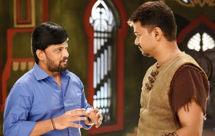 Chimbu Deven with Vijay