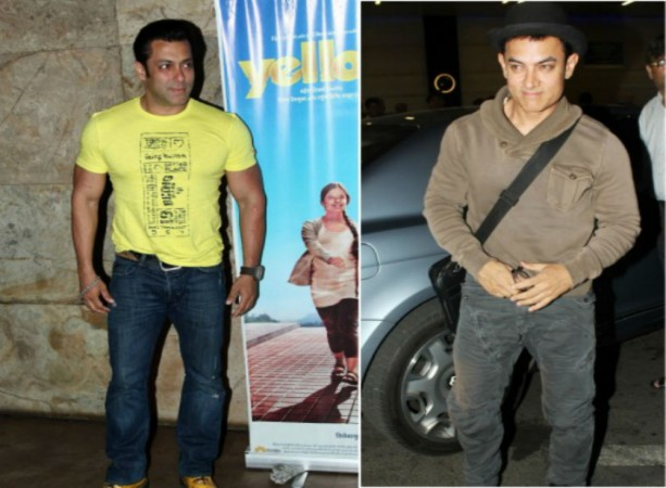 Salman Khan and Aamir Khan