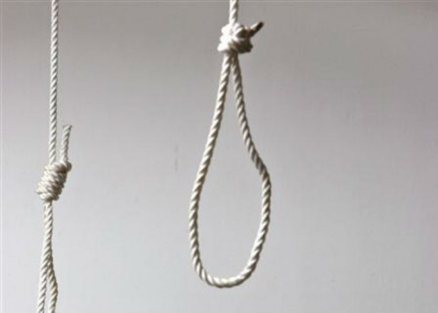 suicide by hanging