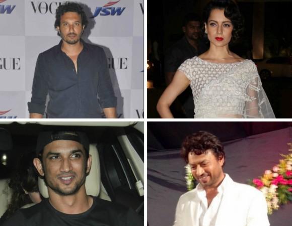 Homi Adajania, Kangana Ranaut, Sushant Singh Rajput, Irrfan Khan