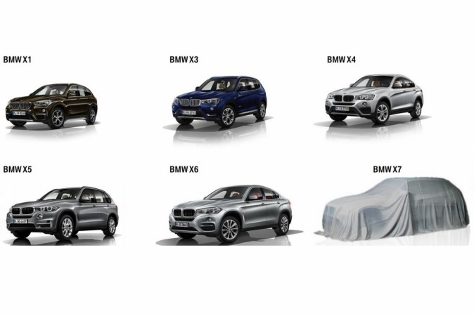 Bmw X7 Teased Flagship Suv Confirmed For 2018 Debut Ibtimes India
