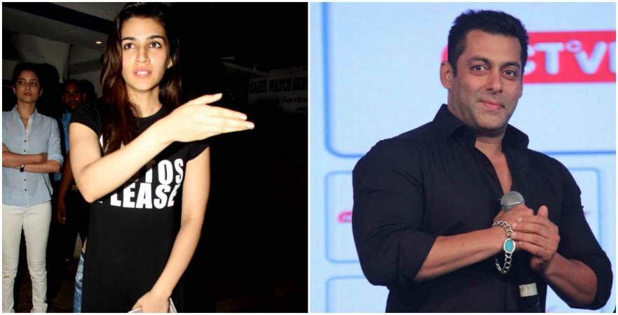 Kriti Sanon, Salman Khan
