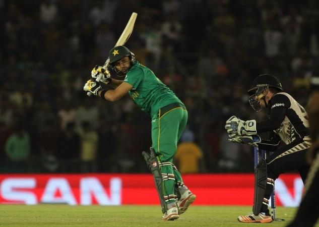 Shahid Afridi Pakistan New Zealand Luke Ronchi World T20 2016