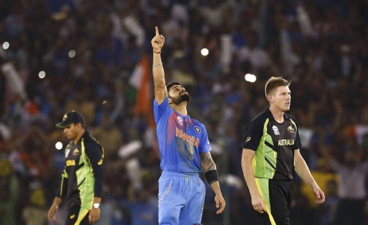 India beats Australia at World T20 match