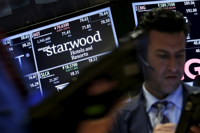 Starwood hotels and Resorts stock