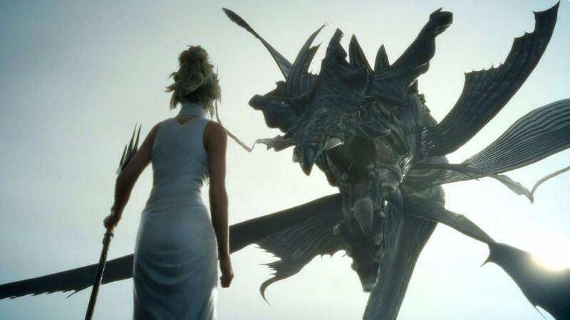 A still from Final Fantasy XV